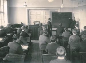 Undervisning ca. 1920