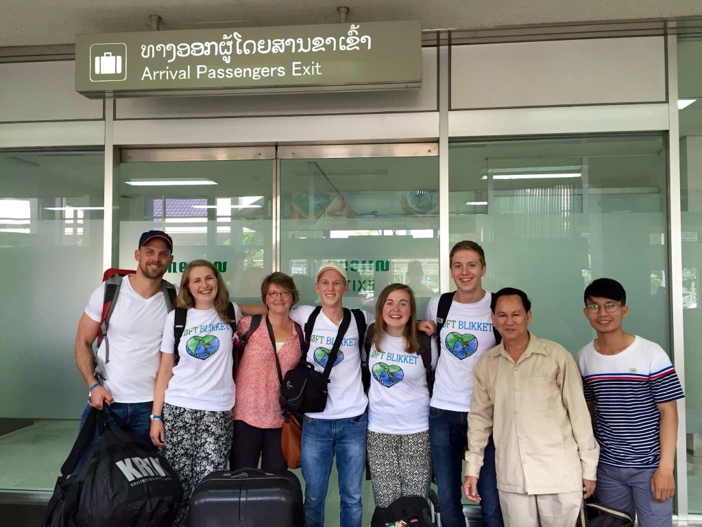 Alle kom vel fram til Vientiane, hovedstaden i Laos. Søndag skal de på gudstjenestebesøk før de skal videre med bil i sju timer til neste sted.