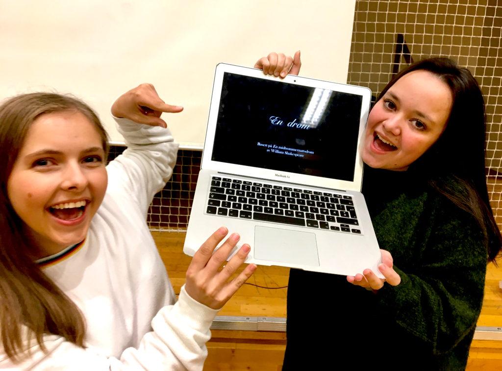 Teatersjefene Sofie og Cecilie er klare for musikal!